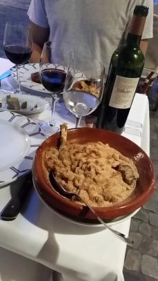 Hauptgang: traditionell ländliche Küche: Cassoulet