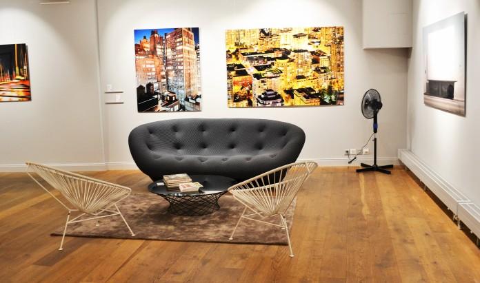 Design in allen Formen: Das Untergeschoss der Galerie Lumas in Zürich.
