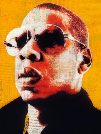 Jay-Z by André Monet, www.lumas.com