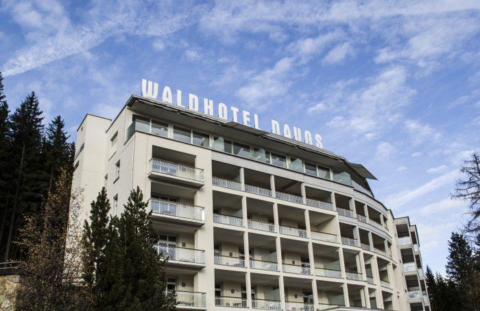 Waldhotel Davos aussen